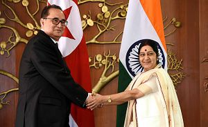 North Korea's Foreign Minister Makes Rare Visit to India