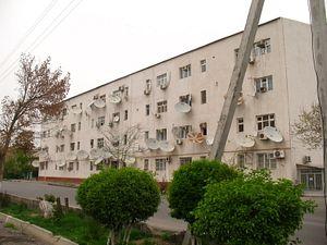 Turkmenistan's War on Satellite Dishes