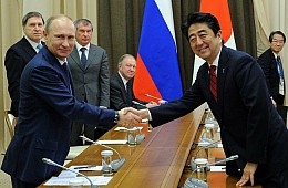 Putin to Visit Tokyo as Japan, Russia Restart Peace Talks