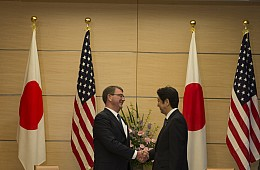 US, Japan Talk Okinawa, Defense Guidelines During Carter's Visit