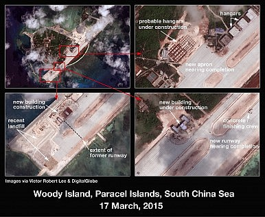 South China Sea: China Is Building on the Paracels As Well