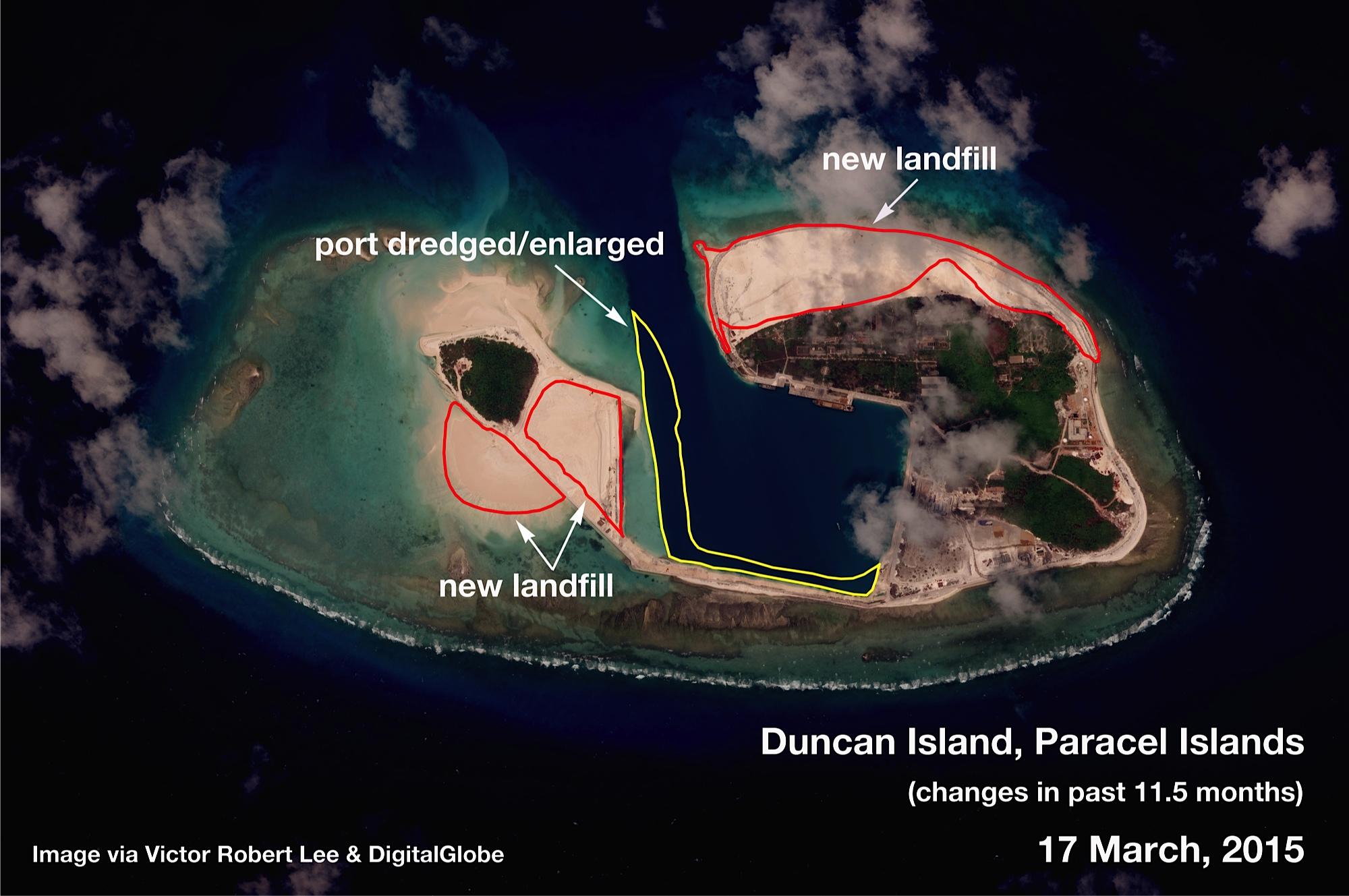 Duncan Island South China Sea