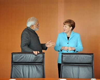 In Germany, Modi Pitches 'Make in India'