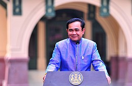 Thailand Junta Chief's Orwell Plug Sparks Controversy