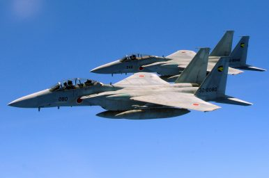Japan Scrambling Jets at Cold War Levels