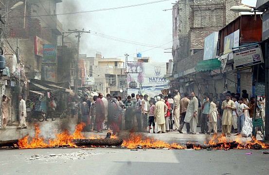 street crime in pakistan and to