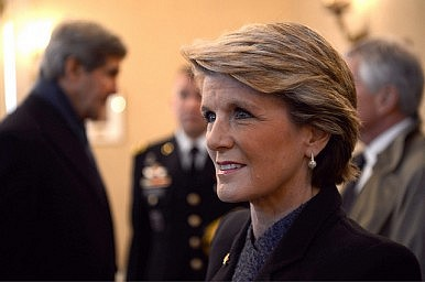 Julie Bishop in Iran