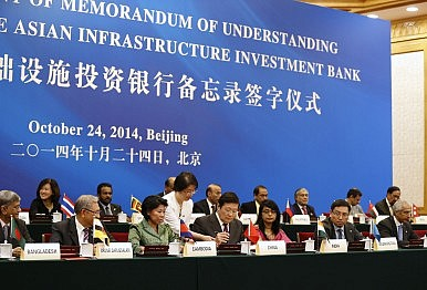 Indonesia and China's AIIB