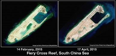 Fiery Cross Reef side by side 2.6M