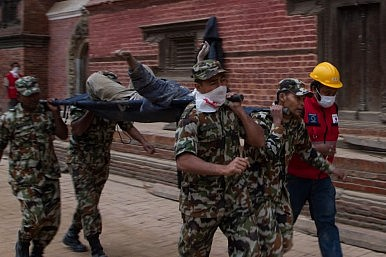write a report on nepal earthquake death