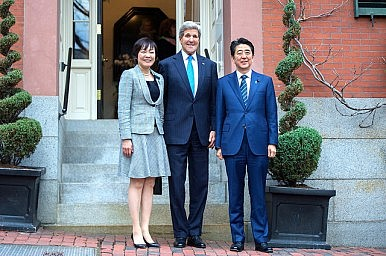 Shinzo Abe's High-Wire U.S. Visit