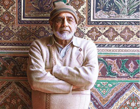 Meeting the Master of Fresco Art in Pakistan