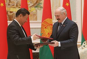 In Belarus, China Seeks Gateway to Europe