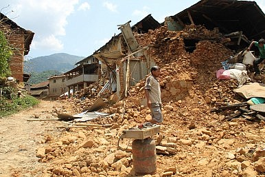 After Unimaginable Destruction and Misery, a Marshall Plan for Nepal?