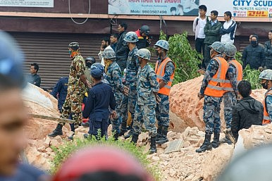 Geopolitics Enters Nepal's Earthquake Relief Efforts