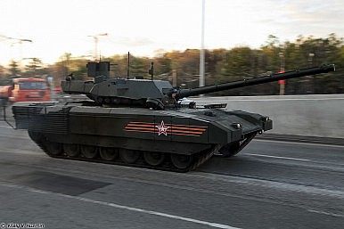 Russia to Develop Nuclear Round for T-14 Main Battle Tank