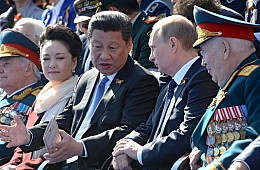 At Russia's Military Parade, Putin and Xi Cement Ties