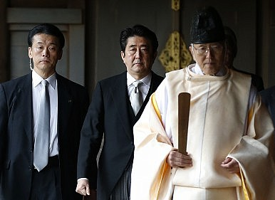 Abe's Japan Cannot Apologize for the Pacific War