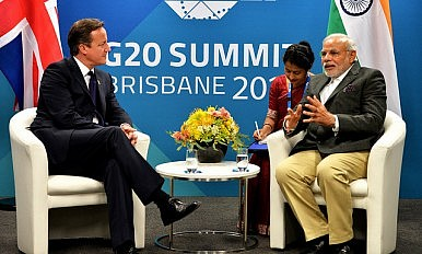 Britain-India: From Courted to Courtier