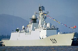 China and Russia Conclude Naval Drill in Mediterranean
