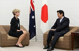 Australia-Japan Talk Closer Military Ties at Pacific Meeting