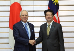 Japan to Give Malaysia 2 Large Vessels During Najib Visit