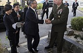 In US, Okinawa Governor Pleads Case Against Base Relocation