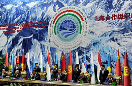 China Urges Greater Security Role for the SCO
