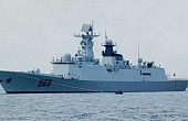 Chinese Navy Conducts Live-Fire Drill in Mediterranean Sea