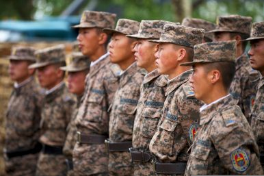 A First: China Sends Troops to US-Mongolia-Led Khaan Quest Exercise