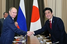 Abe and Putin May Meet in November
