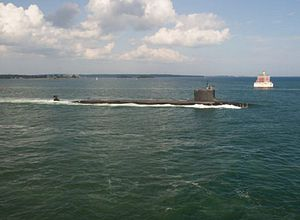 Confirmed: US Navy Launches Underwater Drone From Sub
