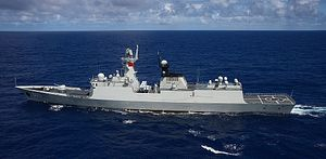 China's Navy Tests 'Maritime Combat Ability' in the South China Sea