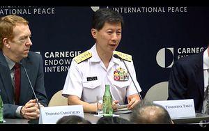 Head of Japan's Navy Warns of Beijing's Militarization of South China Sea