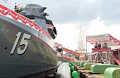 Singapore Launches Two New Warships