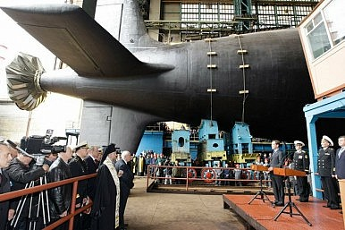 Russia to Develop 'Aircraft Carrier Killer Sub'
