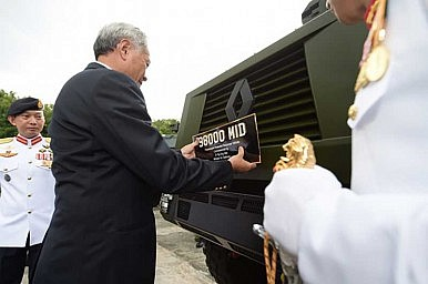 The Singapore Military's New Armored Vehicle
