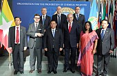 Myanmar Inks Global Arms Treaty