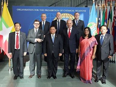 Myanmar Inks Global Arms Treaty