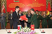 Vietnam, Belarus Ink New Military Pact