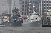 Russia and China Kick Off Naval Exercise in Sea of Japan