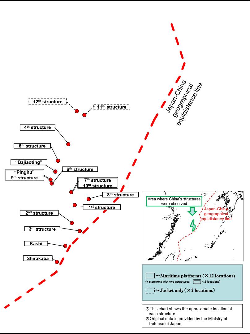 Japan MOFA map
