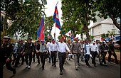 Cambodia's Opposition Leader Delays Return Home Amid Arrest Fears