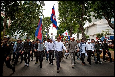Sam Rainsy: The Coward?