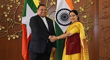 India, Myanmar Eye Future Defense Cooperation