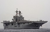 US Navy Builds Largest-Ever Amphibious Assault Ship for F-35 Fighters