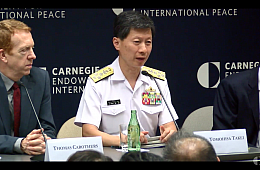 Head of Japan's Navy Warns of Beijing's Militarization of South China Sea