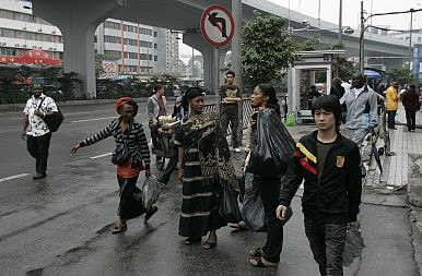 A Little Africa in China