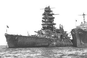 Imperial Japan's Last Floating Battleship