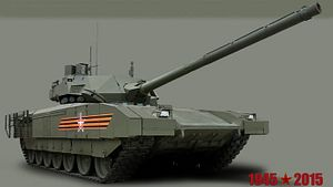 Russia's Military to Receive 100 New T-14 Armata Battle Tanks